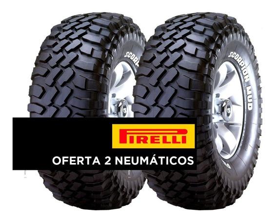 2 Llantas 255/70r16 Pirelli Scorpion Mtr Mt 108q