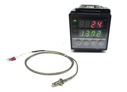 Controlador De Temperatura Rex-c100 Bi-volt Com Saída A Relé