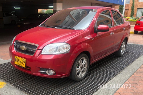 Chevrolet Aveo Emotion 1600icc Mt Aa Abs Abs Dh Fe