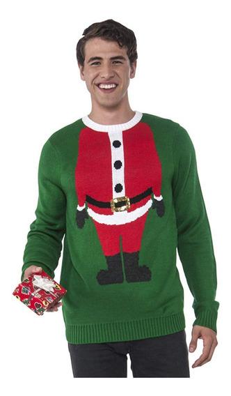 Suéter Feo Navidad Navideño Santa Ugly Sweater Chico