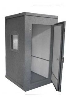 Cabine Acústica - Audiometria Ou Estúdio 105x105x180