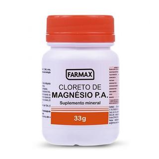 Cloreto De Magnesio Pa Farmax 33g - 3 Unidades!