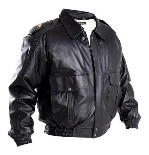 Imagen 1 de 8 de Chamarra Sport Jacket De Piel Original Sk7 707 Tactical Gear