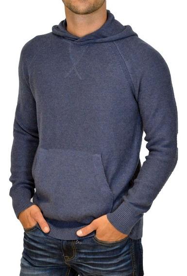 Sweater Mistral Canguro Capucha Bolsillo Hombre Moda Algodón