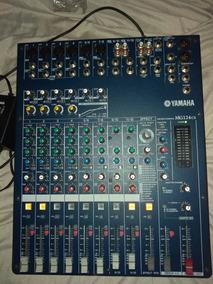 Mesa De Som Yamaha Mg124cx Analogica Mg 124 Cx Efeitos Banda