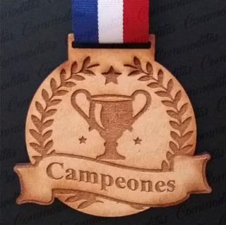 Medallas Medalla Deportiva Mdf