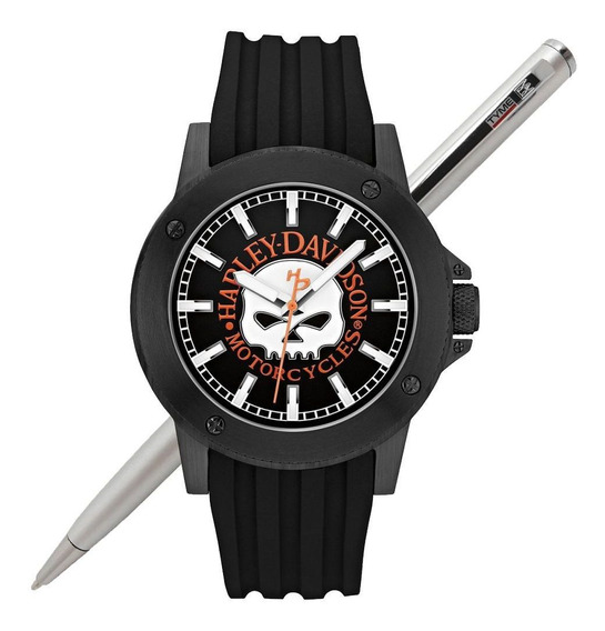 Relógio Bulova Harley Davidson Masculino Wh30466p C/ Nfe