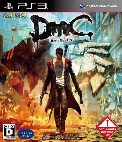 Dmc Devil May Cry Ps3 - Midia Digital