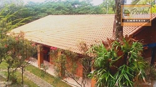 Chácara Com 3 Dormitórios À Venda, 5000 M² Por R$ 650.000,00 - Iara - Atibaia/sp - Ch0082