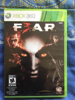 Fear 3 Xbox 360. Envíos Todo Chile