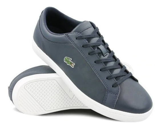Tenis Lacoste Straightset Bl Hombre Azul Gucci Coach Tommy