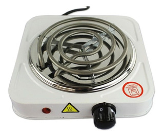 Estufa De Mesa Electrica 1 Hornilla, Diseño Portatil, Cocina