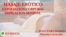 Masaje Relajante Solo Para Mujeres.