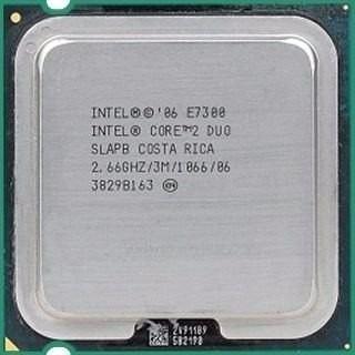 Intel Pentium Core2duo E7300 3mb Cache, 2.66 Ghz, 1066 Mhz -