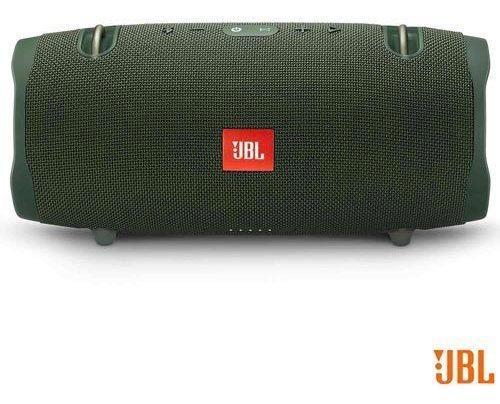 Caixa Som Bluetooth Jbl Xtreme 2 40w Verde Jblxtreme2grn