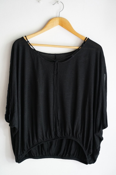 Remera/blusa Negra Jessica Simpson (importada Usa)