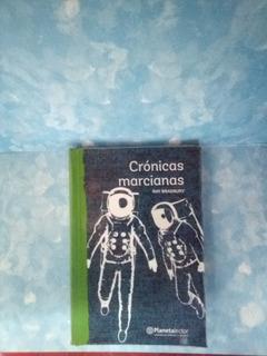 Libro Crónicas Marcianas Por Ray Bradbury