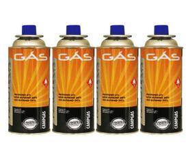 Refil Gas Para Fogareiro Campgas C/ 4 Pç - Nautika