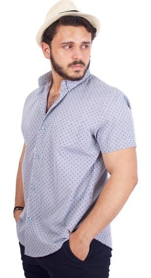 Camisa American Blues Algodon Patricio Bgr