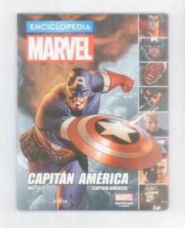 Enciclopedia Marvel Capitán América - Vol. 1