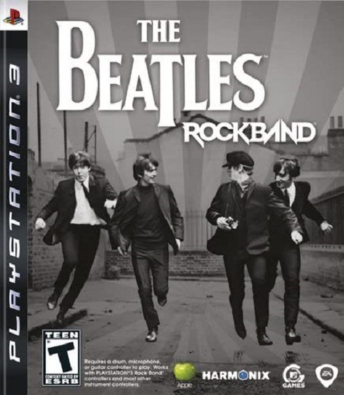 Jogo The Beatles Rockband Ps3 M. Fisica