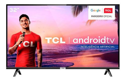 Imagem 1 de 10 de Smart Tv Android Led Hd 32 Tcl 2 Hdmi Wi-fi 32s6500s