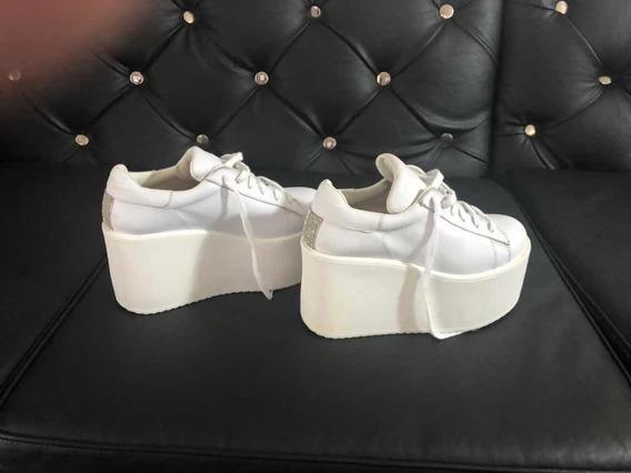Zapatillas Con Plataforma Y Brillos 47 Street Nuevas!!!