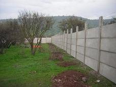 Prefabricados De Hormigón - Cierros Santiago