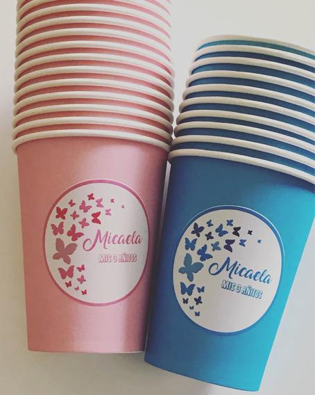 Vasos Polipapel Personalizados Con Sticker