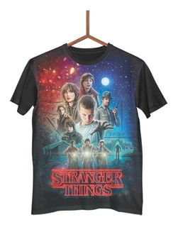 Camisa Camiseta Stranger Things Série Netflix Mistério G0362