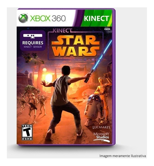 Kinect Star Wars - Original Xbox 360 - Novo