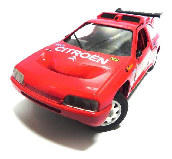 Miniatura Citroen 2x Rallye Raid 1/18 Majorette 4407