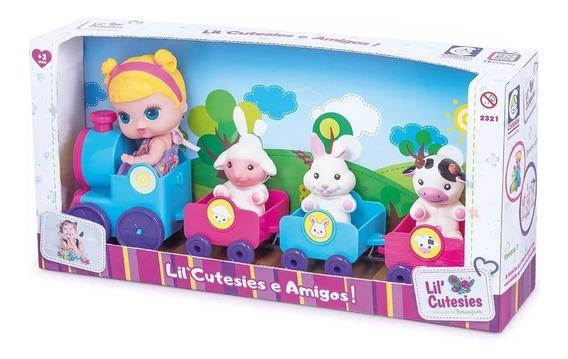 Brinquedo Trenzinho Com Boneca Estilo Lol - Cotiplás