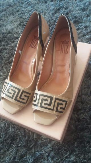 Sapato Feminino Verniz Marca Hiz 37