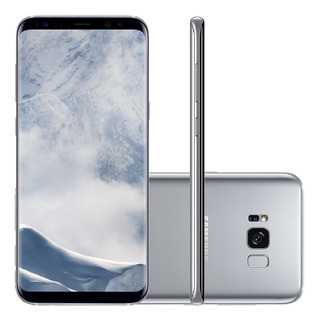 Samsung Galaxy S8 Plus G955f 64gb 4gb Ram 4g Prata Vitrine 1