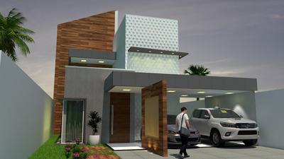 Projetos Executivos Para Residência Unifamiliar De 198m²