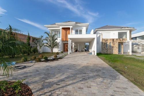 Casa Condominio Em Belém Novo Com 5 Dormitórios - Lu431179