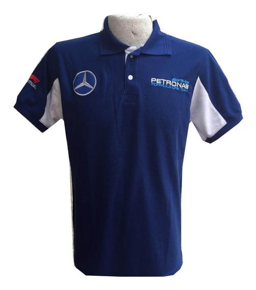 Playera Tipo Polo Mercedes Benz Petronas