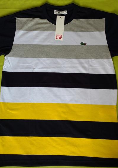 Camisa Lacoste Listrada
