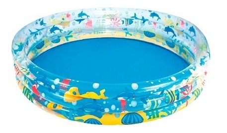 Piscina Inflable Tres Anillos 506l