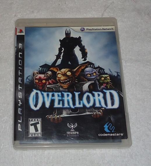 Overlord 2 Ps3 ** Frete Gratis Leia