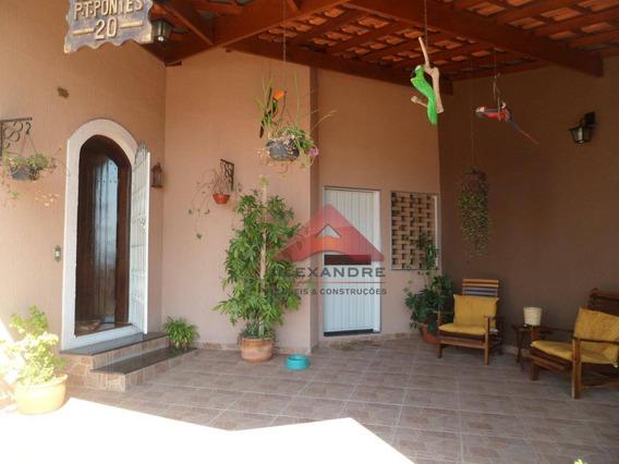 Casa Com 3 Dormitórios À Venda, 280 M² Por R$ 848.000 - Vila Industrial - São José Dos Campos/sp - Ca1169