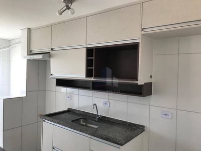 Apartamento Com 2 Dormitórios Para Alugar, 53 M² Por R$ 1.100/mês - Vila Nossa Senhora Das Vitórias - Mauá/sp - Ap0111