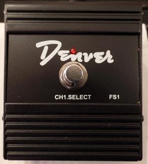 Pedal Footswitch Denver Fs-1 Para Amplificador Leomusic