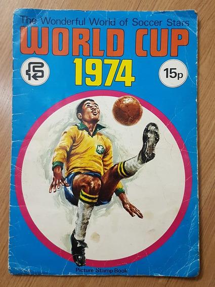 Album De Figurinhas Copa Do Mundo Fifa 1974 Raridade