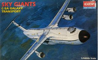 C-5a Galaxy Transport Escala 1/480 Academy 1696 Sky Giants