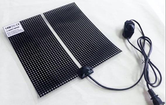 Placa Aquecida Para Repteis Com Regulador De Temperatura