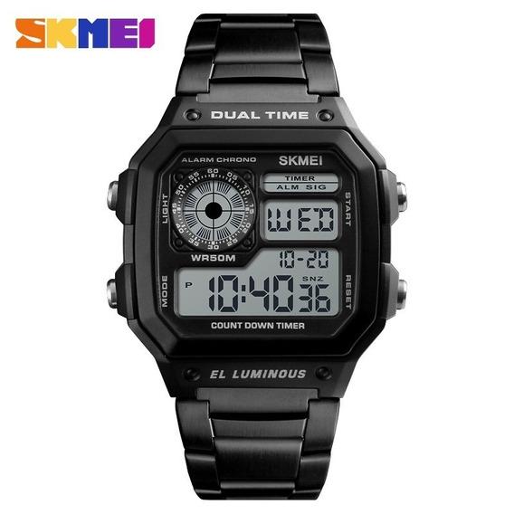 Relógio Digital Elegance Skmei 1335 Masculino A Prova Dagua