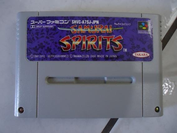 Cartucho Samurai Spirits Super Famicom / Snes Original