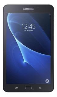 "Tablet Samsung Galaxy Tab A 2016 SM-T280 7"" 8GB black con memoria RAM 1.5GB"